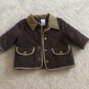 Boys corduroy insulated coat